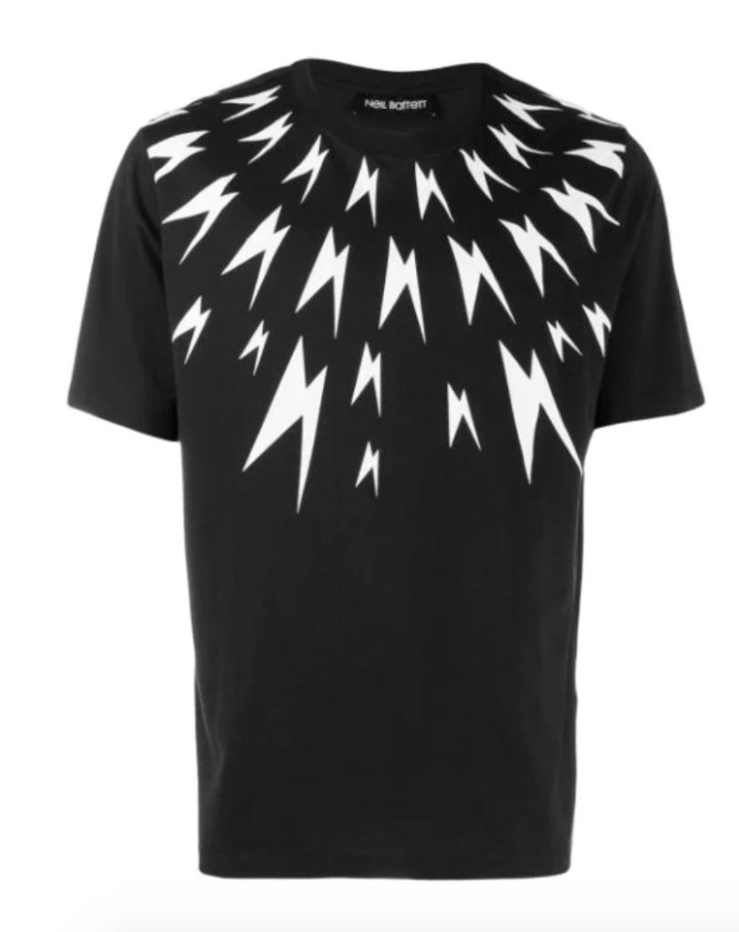 BlackBarrett by Neil Barrett Graphic T-Shirt