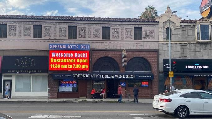 Greenblatt's Deli