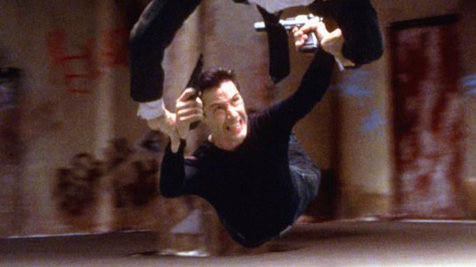 Keanu Reaves in The Matrix