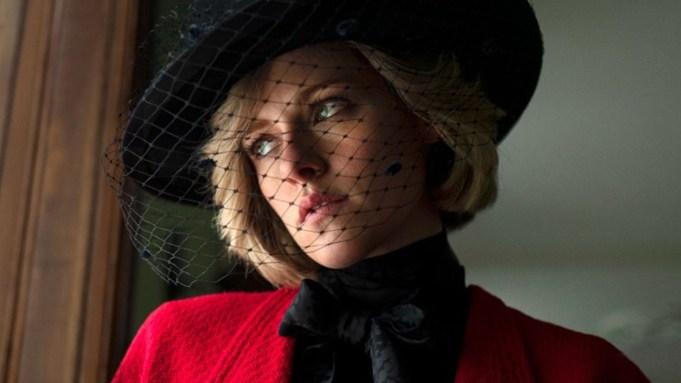 Kristen Stewart as Princess Diana in