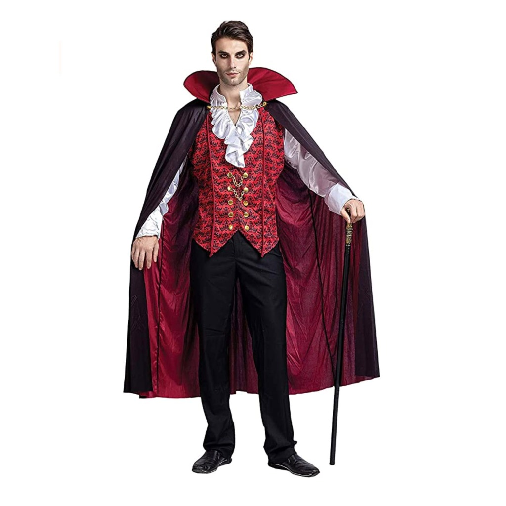 Spooktacular Creations Renaissance Men's Vampire Halloween Costume