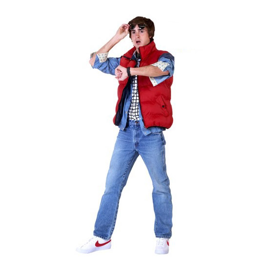 Back to the Future Marty McFly Halloween Costume