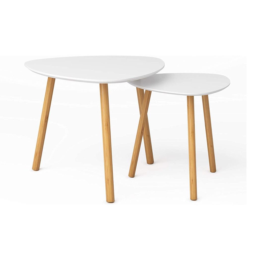 Bameos Bamboo Nesting Side Tables