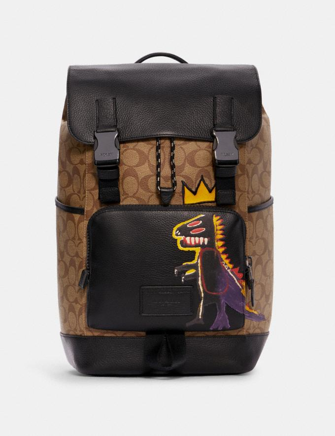 Coach x Jean-Michel Basquiat Track Backpack