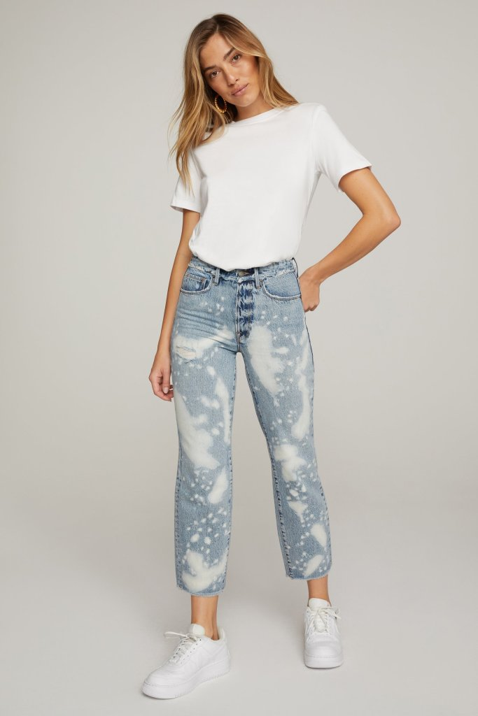Good American Good Vintage Released Waistband Jeans