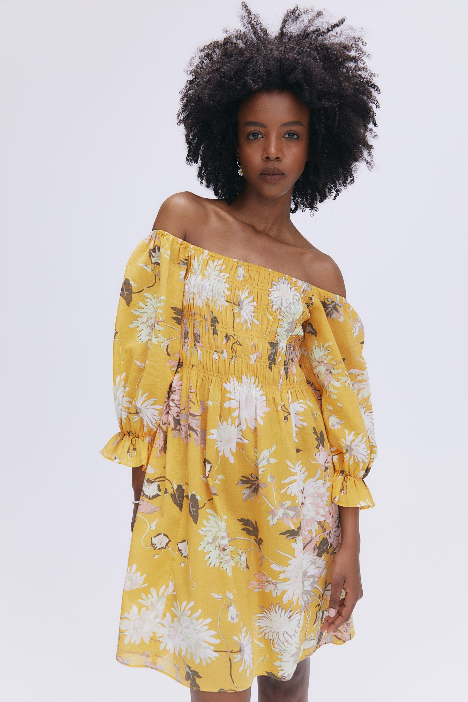 H&M Off-Shoulder Dress