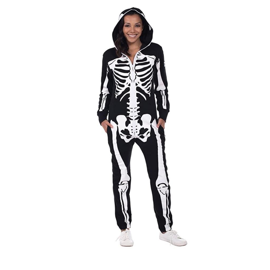 Tipsy Elves Women's Skeleton Halloween Costume