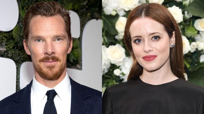 Benedict Cumberbatch y Claire Foy
