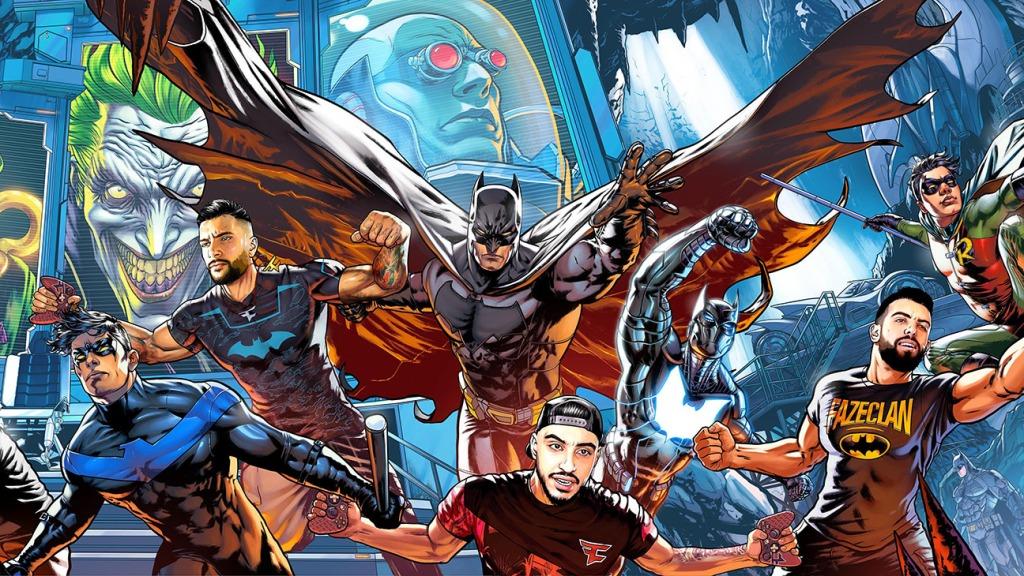 FaZe Clan and Batman