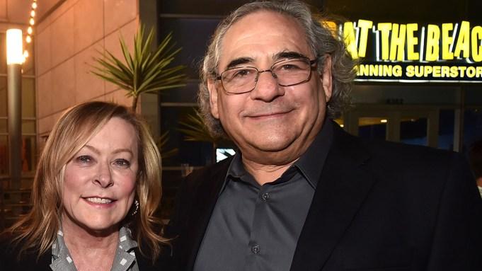 Nancy Utley and Steve Gilula