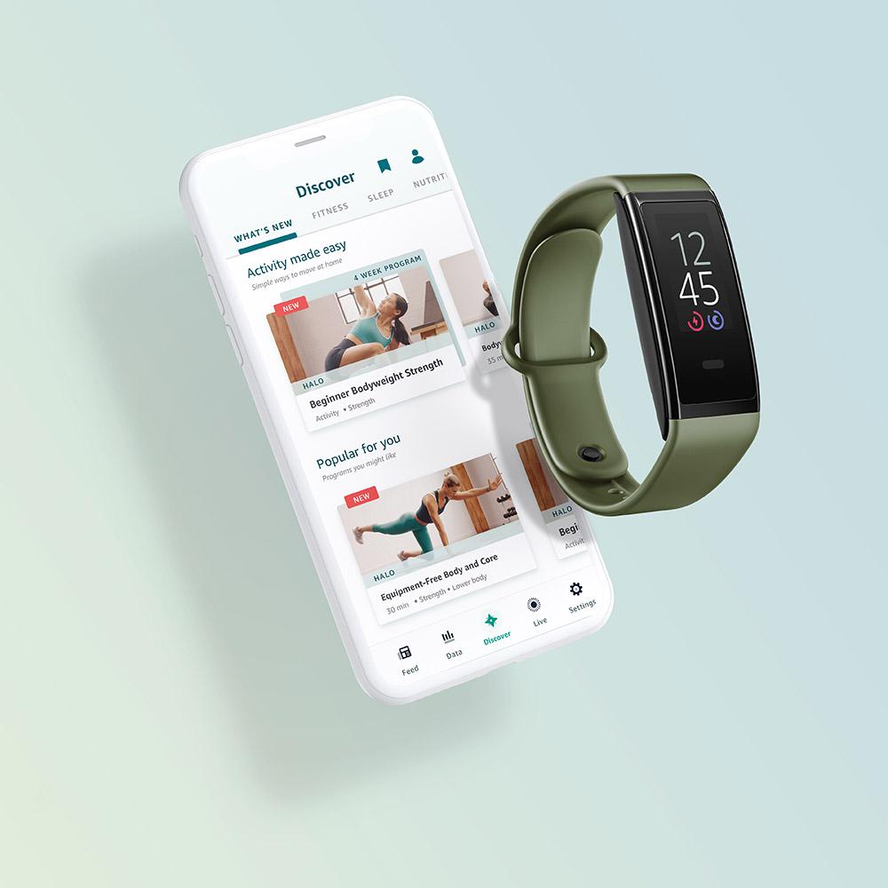 Amazon Halo View Fitness Tracker