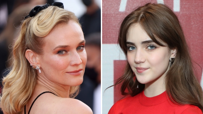 Diane Kruger Teaming With 'Never Rarely Sometimes Always' Breakout Talia Ryder for 'Joika' (Exclusive)