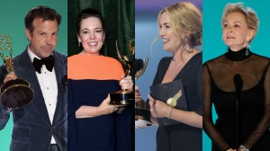 Jason Sudeikis Kate Winslet Olivia Colman and Jean Smart at Emmy Awards
