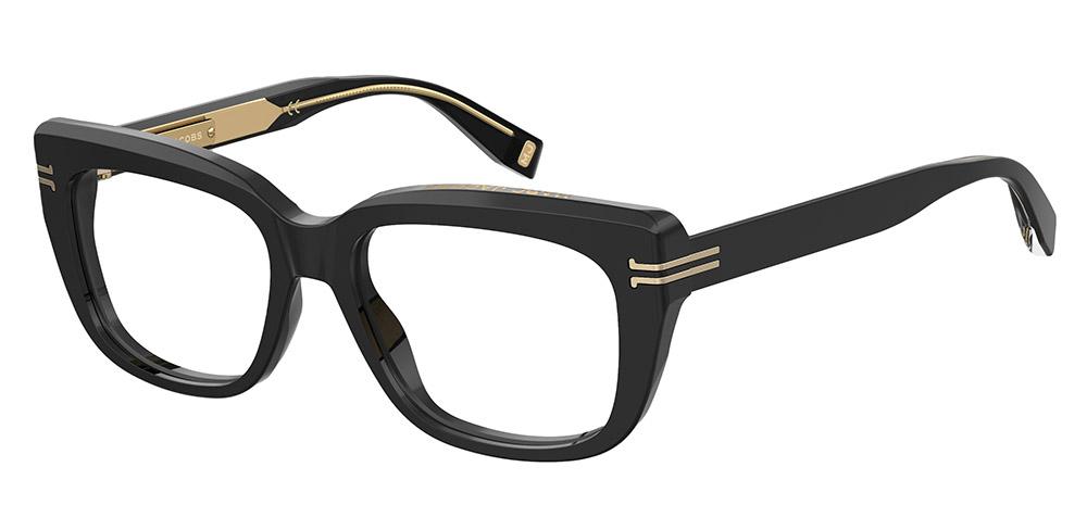 Marc Jacobs Black Acetate Optical Glasses