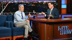 Jon Stewart on 'The Late Show with Stephen Colbert'