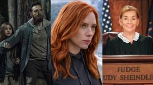 The Walking Dead, Black Widow and Judge Judy