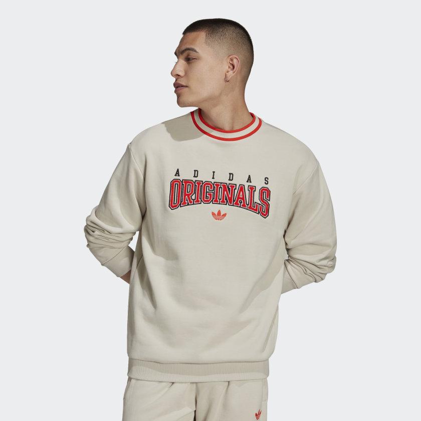Adidas Originals Script Crewneck Sweatshirt