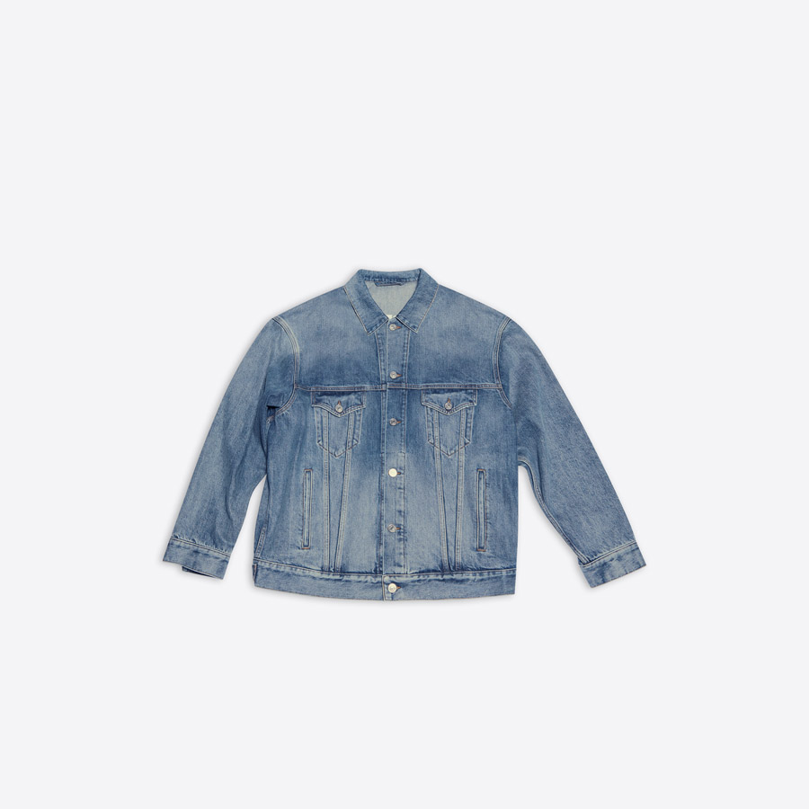 Balenciaga Fortnite Denim Jacket