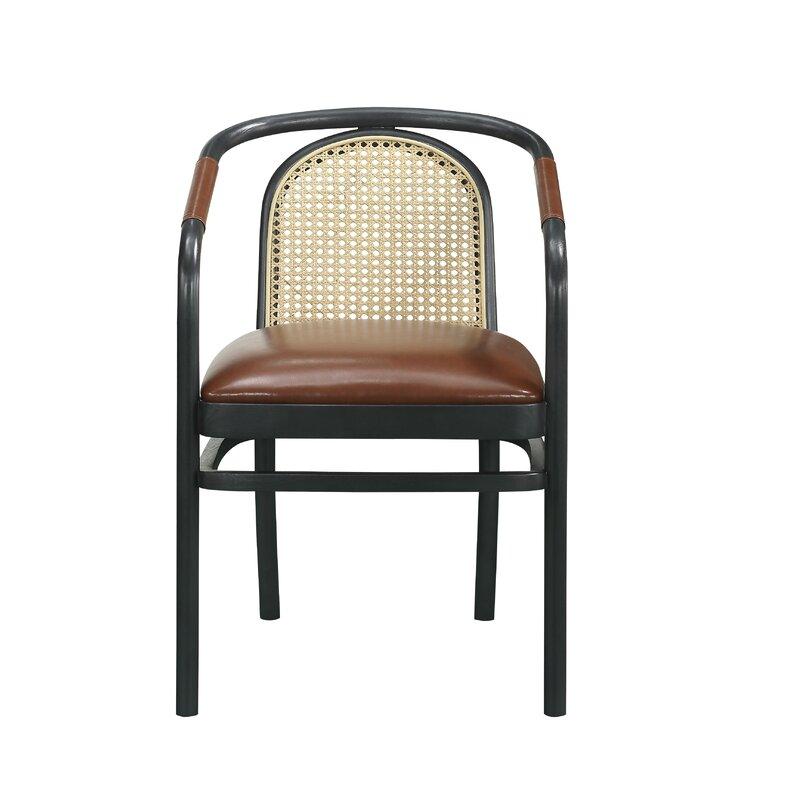 Bobby Berk Leather Arm Chair