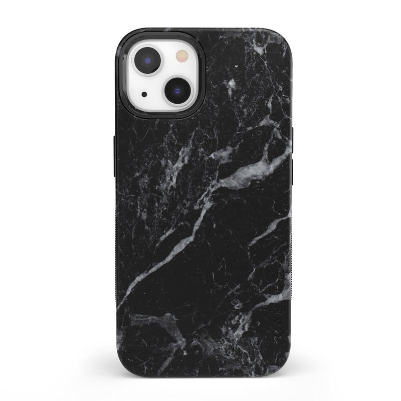 Casely iPhone 13 Black Marble Case