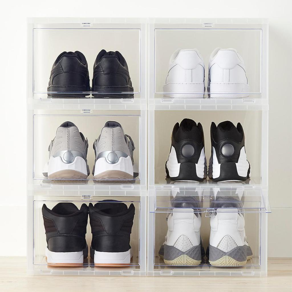 Container Store X-Large Drop Front Shoe Boxes
