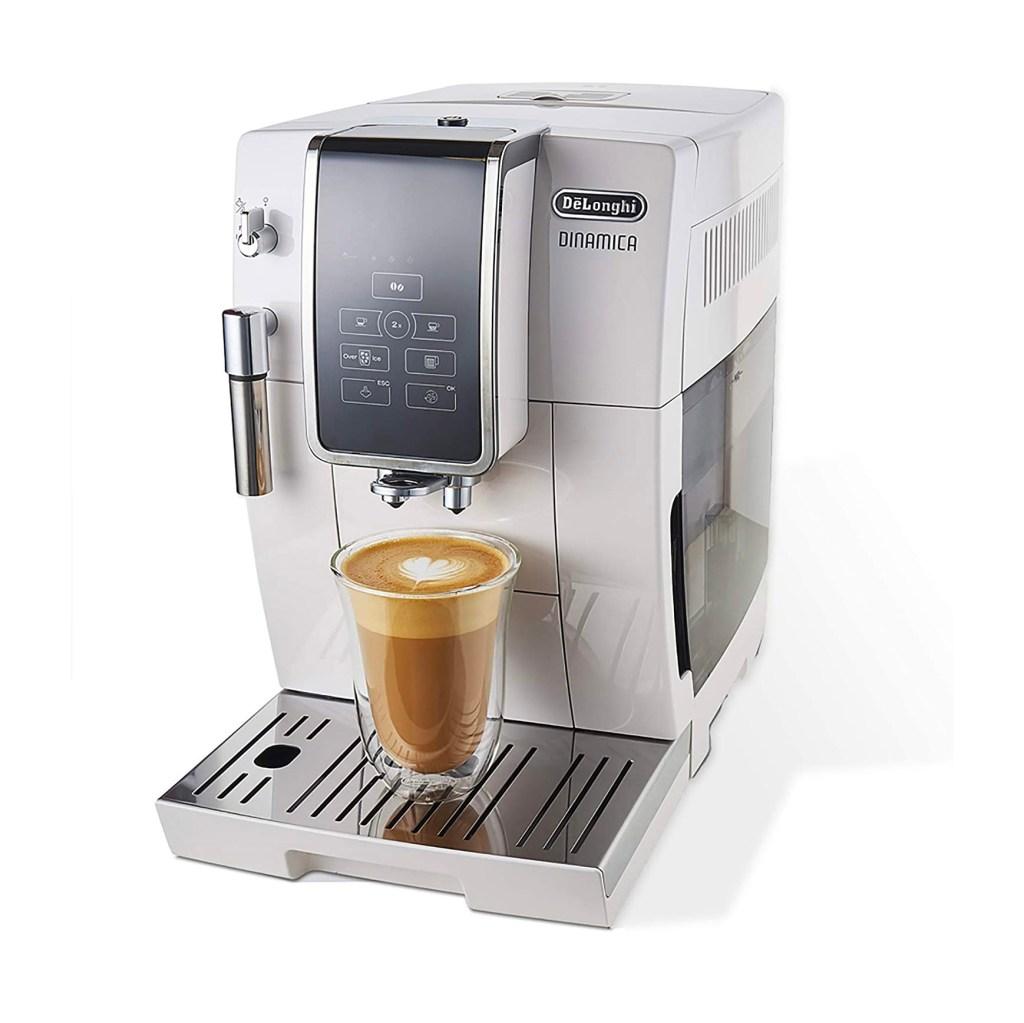 De'Longhi Dinamica Espresso Machine, White