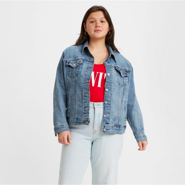 Levi's Ex-Boyfriend Trucker Jacket Plus Size