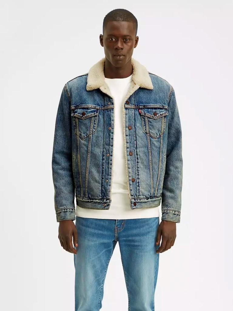 Men's Levi's Sherpa Trucker Jacket