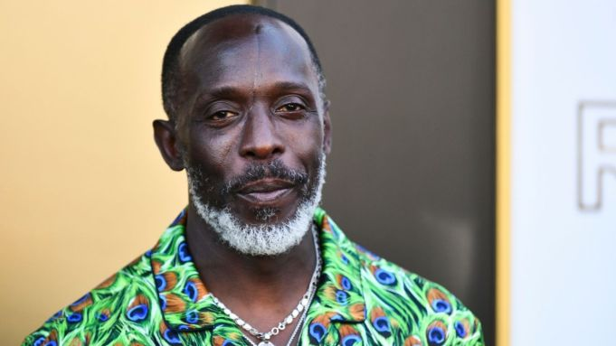 Michael K. Williams attends the Los