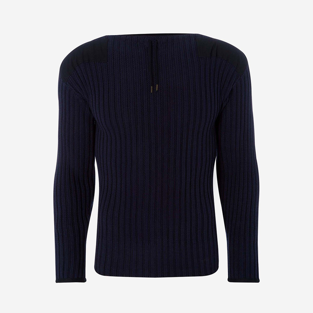 N Peal 007 Ribbed Army Sweater