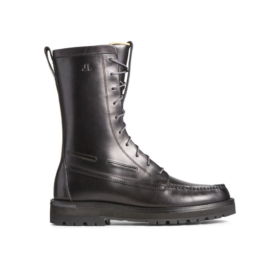 Sperry x John Legend Authentic Original Vibram Lug Boot in Black