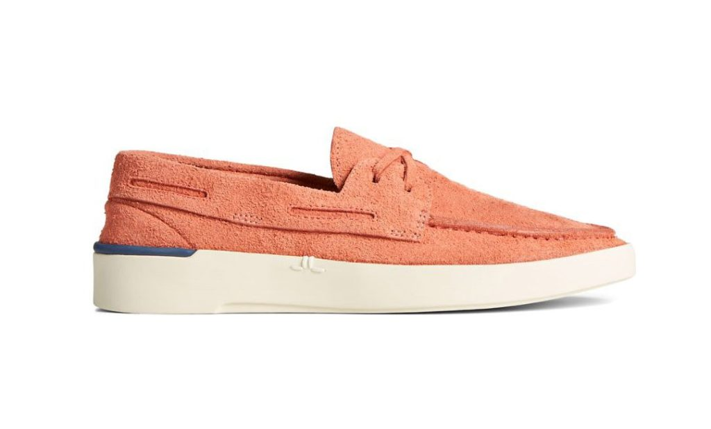 Sperry x John Legend Signature Boat Loafer Shoe in Salmon