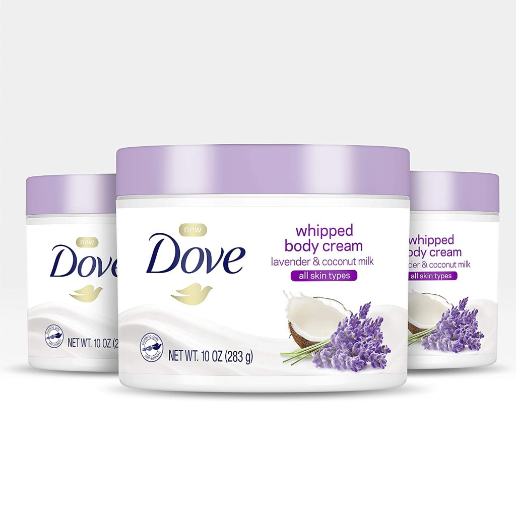 Dove Whipped Body Cream with Lavender and Coconut Milk