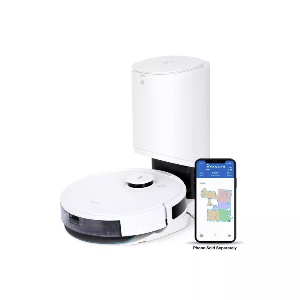Ecovacs Deebot N8+ Laser Mapping Vacuuming and Mopping Robot