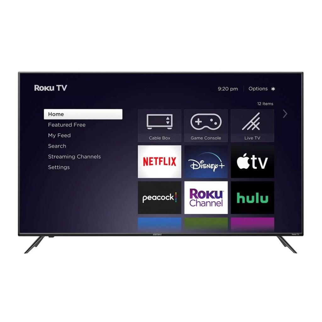 Element 55-Inch 4K UHD Roku LED TV