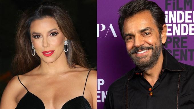 Eva Longoria and Eugenio Derbez