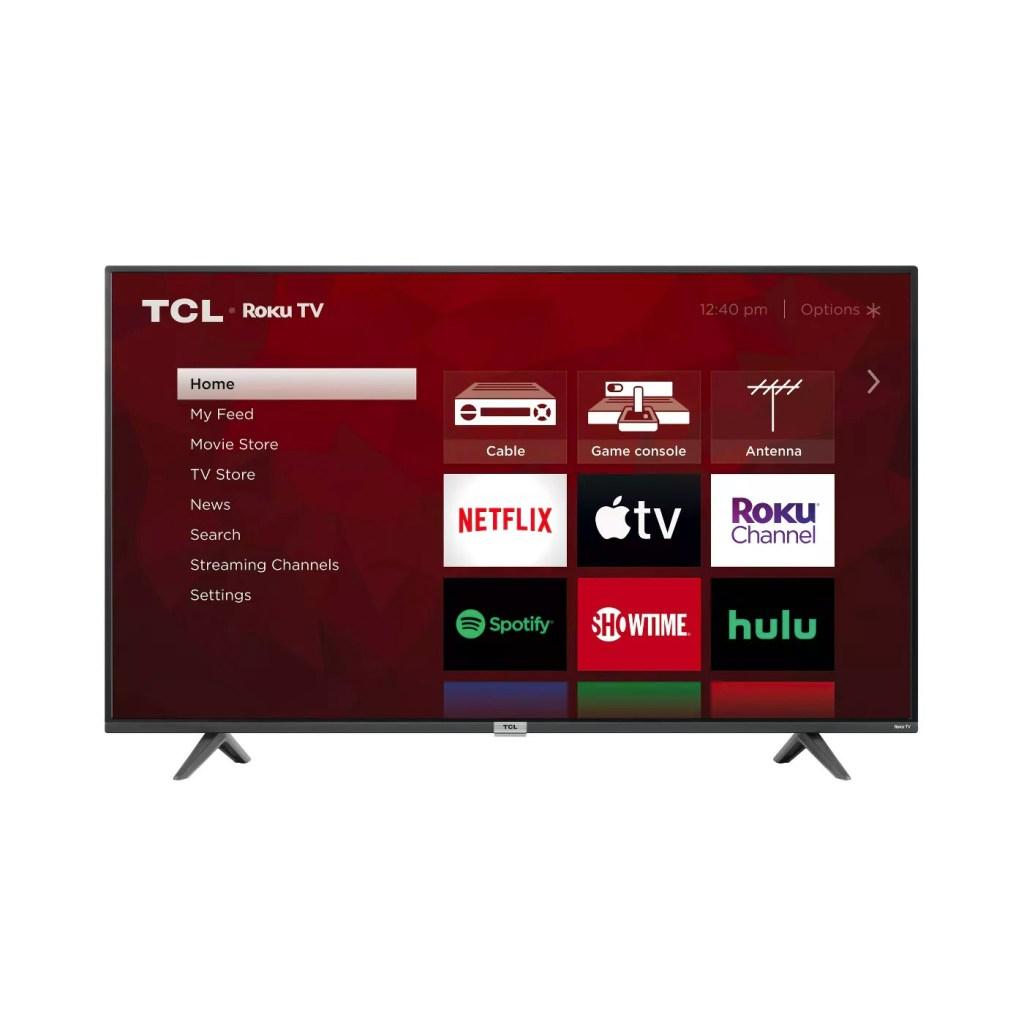 TCL 55-Inch Class-4 Series 4K UHD HDR Smart Roku TV