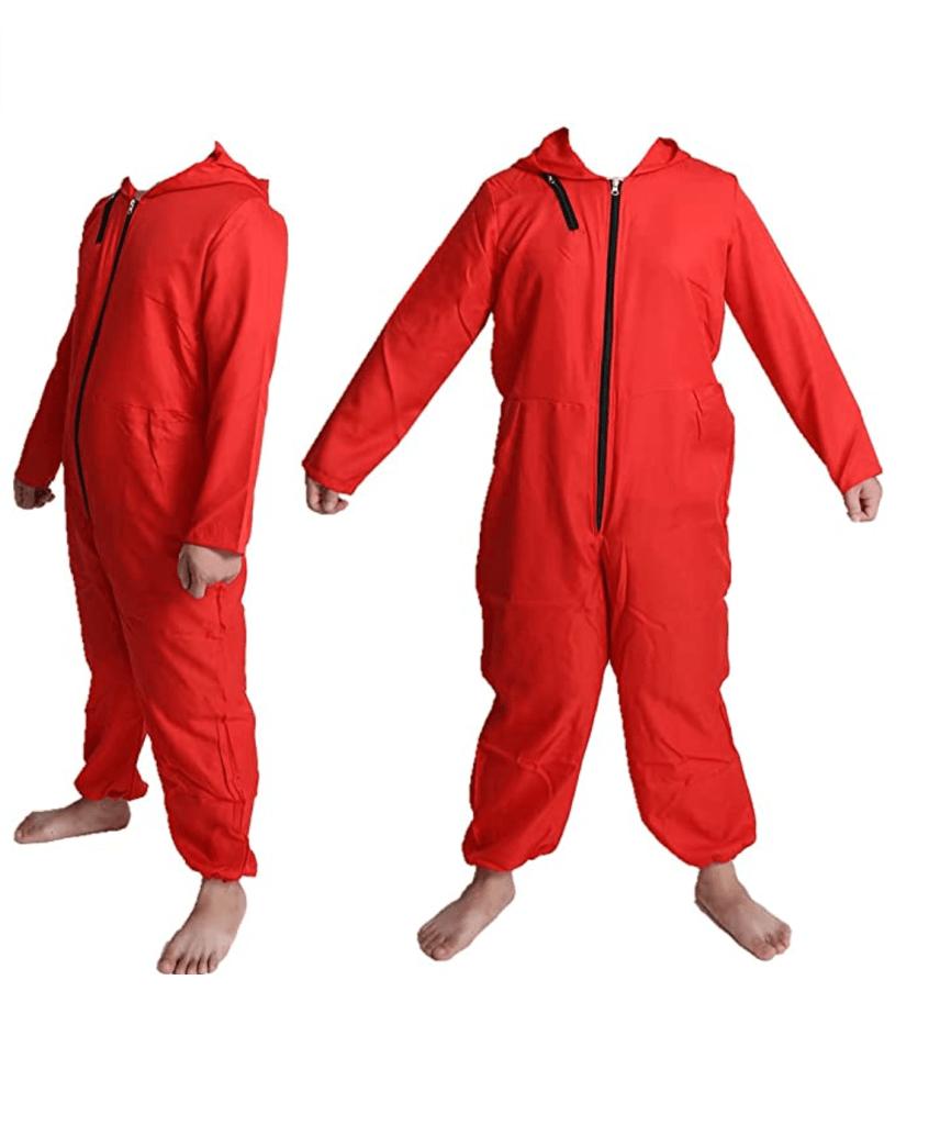 Yuantu Unisex Red Jumpsuit