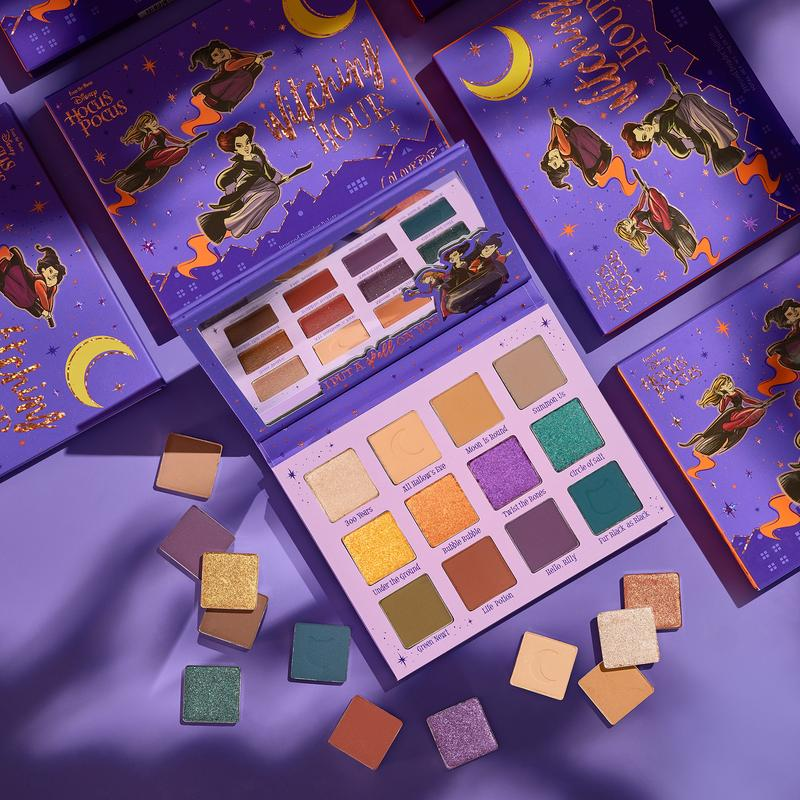 ColourPop x Hocus Pocus Witching Hour Pressed Powder Palette