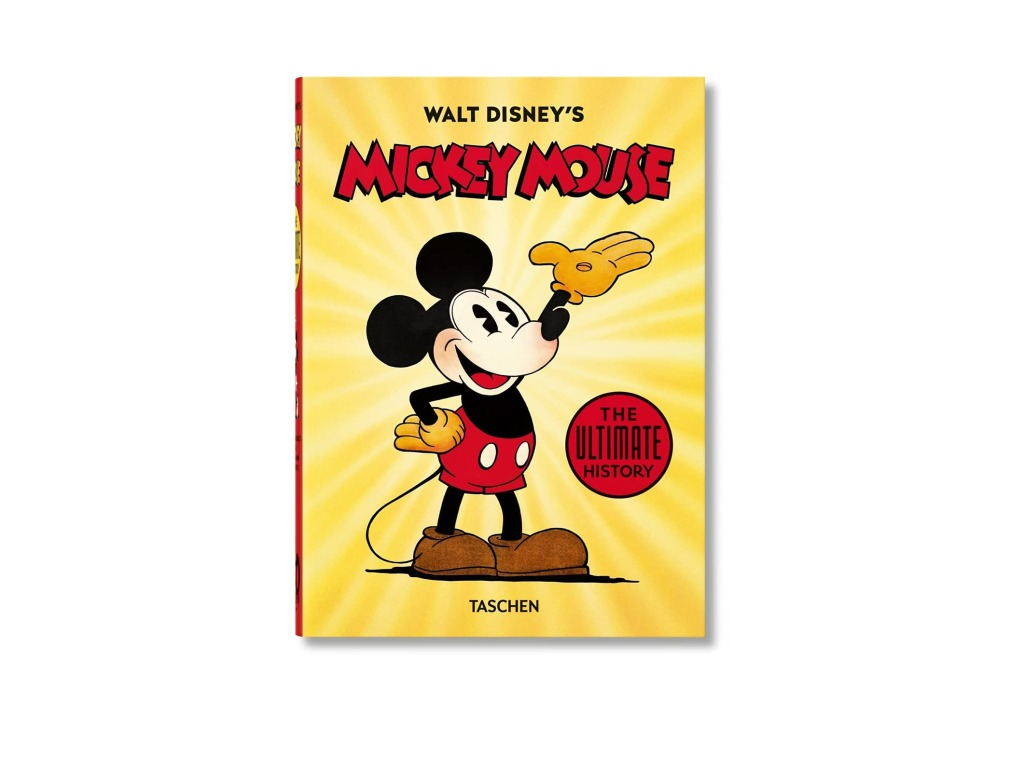 'Walt Disney's Mickey Mouse: The Ultimate History' Book