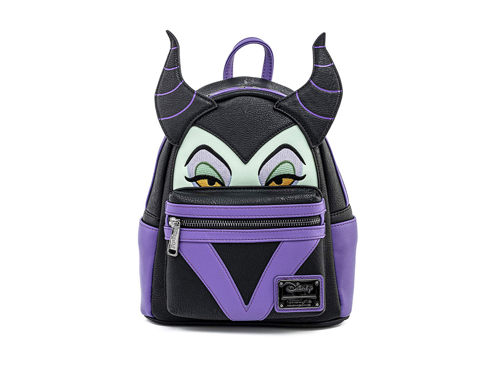 Loungefly Disney Maleficent Faux Leather Backpack