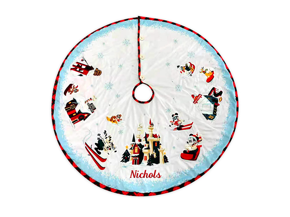 Mickey Mouse & Friends Holiday Tree Skirt