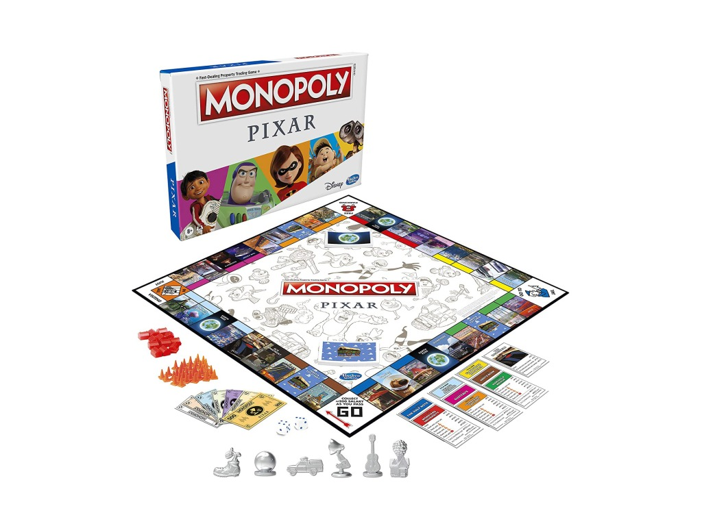 Monopoly: Pixar Edition Board Game