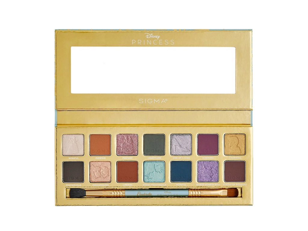 Sigma Beauty x Disney Cinderella Eyeshadow Palette