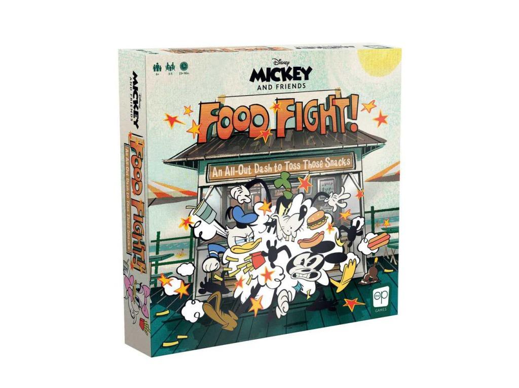 Disney Mickey & Friends Food Fight Game