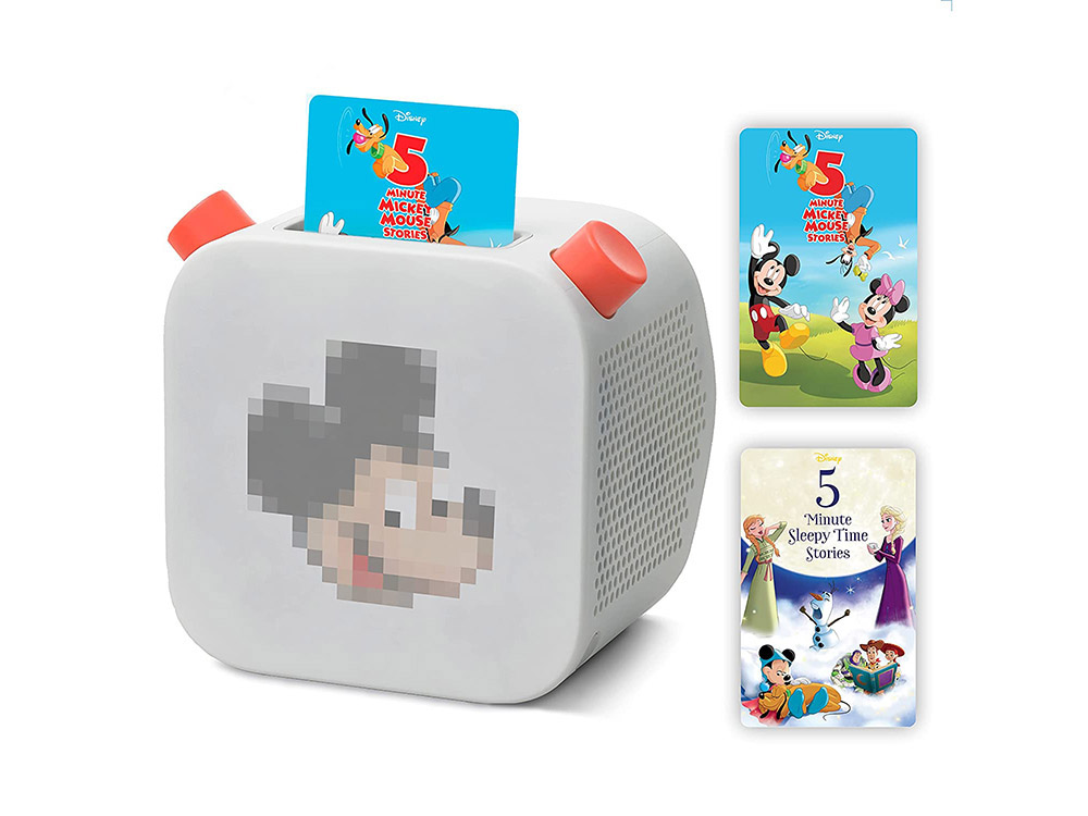 Yoto Player with Five-Minute Disney Cards Pack